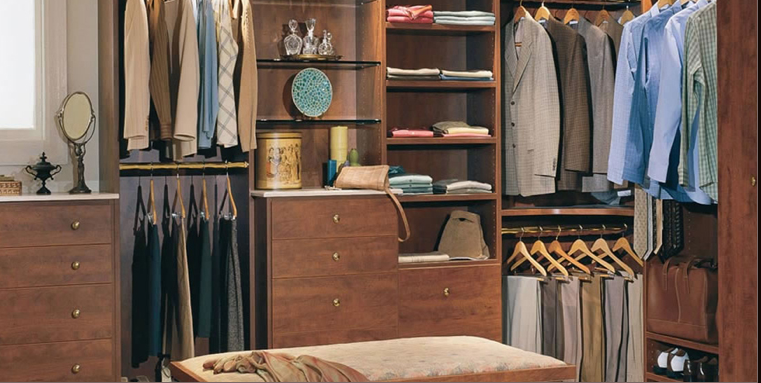Wouldn't you love to say you can find everything in your closet? Photo courtesy of California Closets