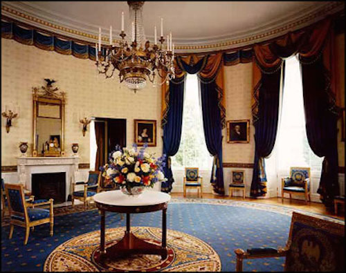 Blue Room (White House), Bill Clinton Administration