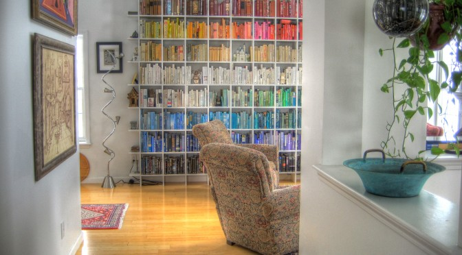 Decorating With Books #1: Why This Is A Good Idea
