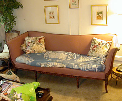 Living Room Before: